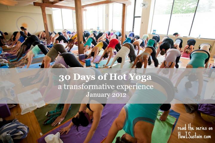 30 days of hot yoga; photo courtesy of BaronBaptiste.com
