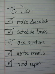 Start Checking those Boxes!