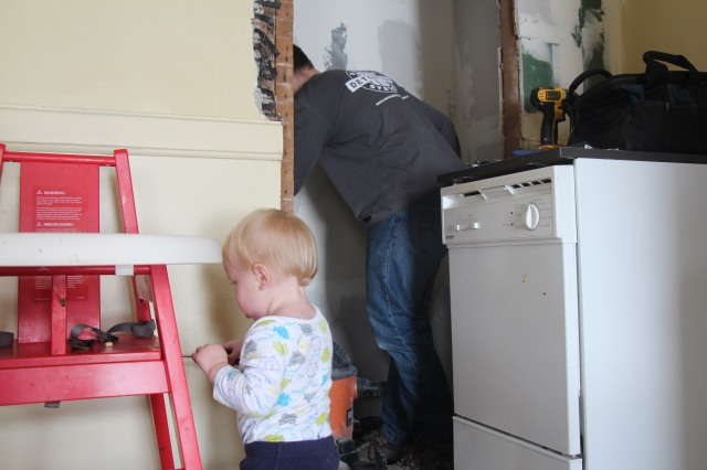 Renovating the Pantry: our February home improvement project