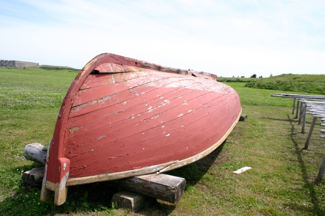 Boat at Historic Village, Nova Scotia