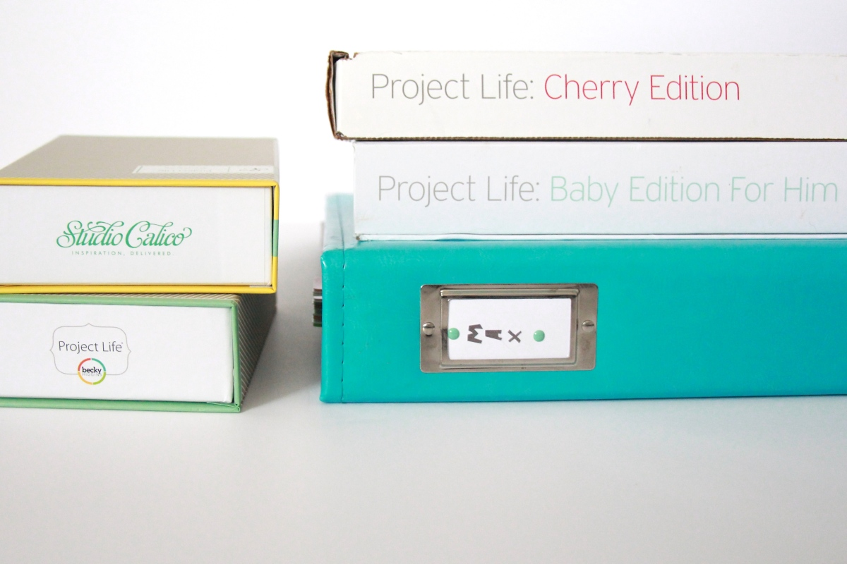 Project Life Baby Edition for Him: Products Used