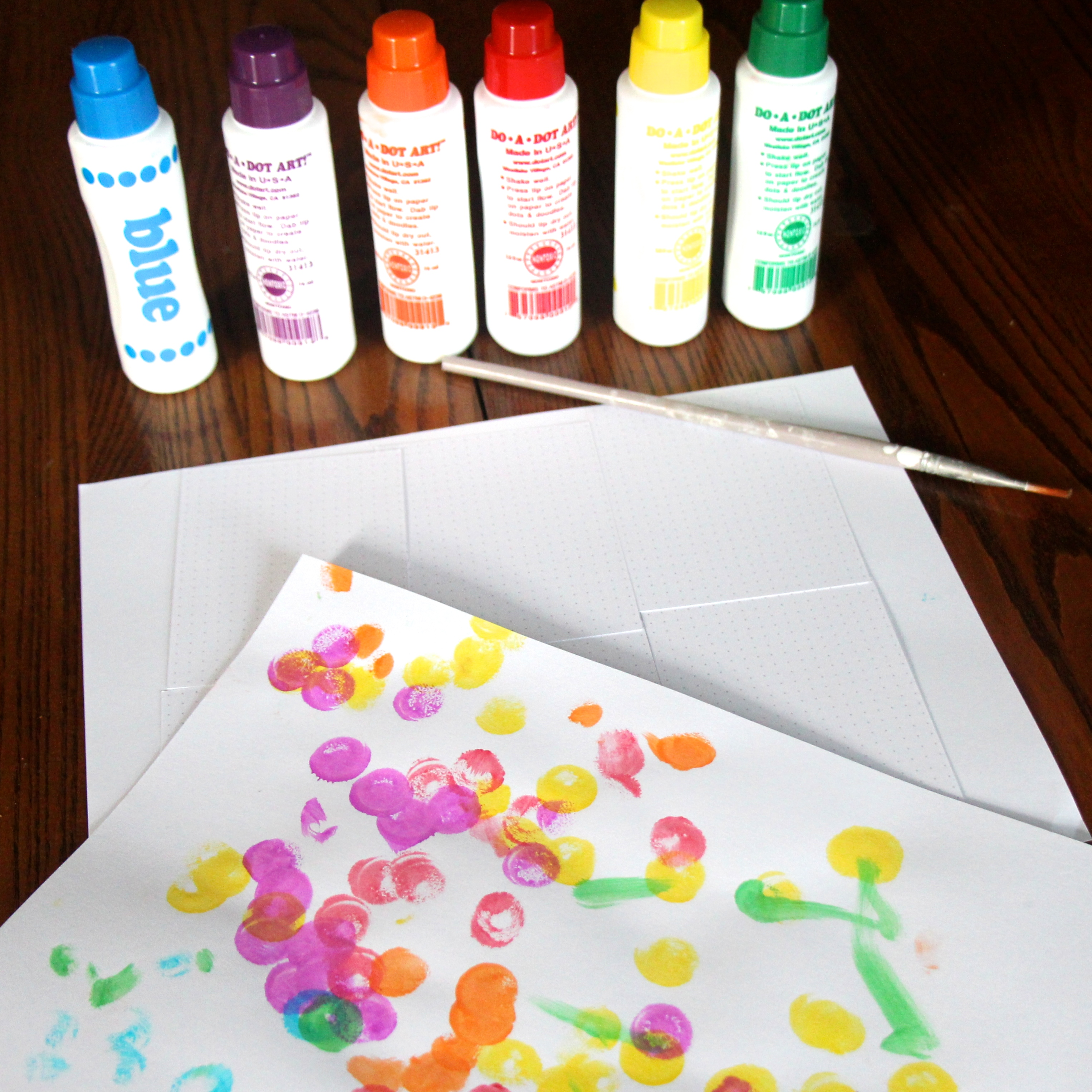 Having Fun With Kids Paints Dot A Dot How I Sustain