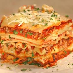 Best Turkey Lasagna Ever. Photo courtesy of allrecipies.com