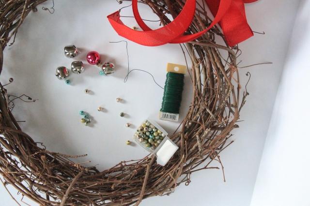 pinterest party wreath materials