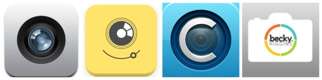 iPhone Camera > PicTapGo App > Collect Photo App > Project Life App
