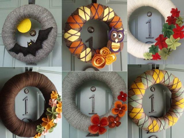 pinterest party wreaths