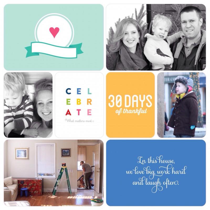 30 Days of Thankful Album - 2014