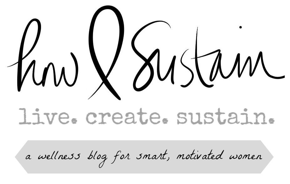 how i sustain blog logo and banner