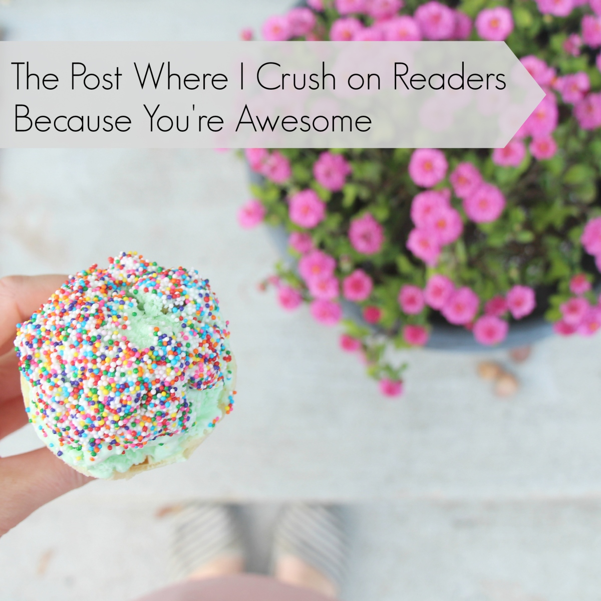 The post where I crush on readers because you're awesome