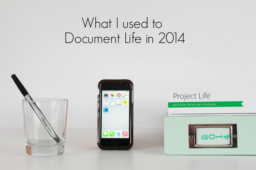 what I used to document life in 2014