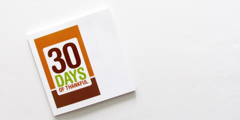 30 Days of Thankful 2012   Julie Gagen